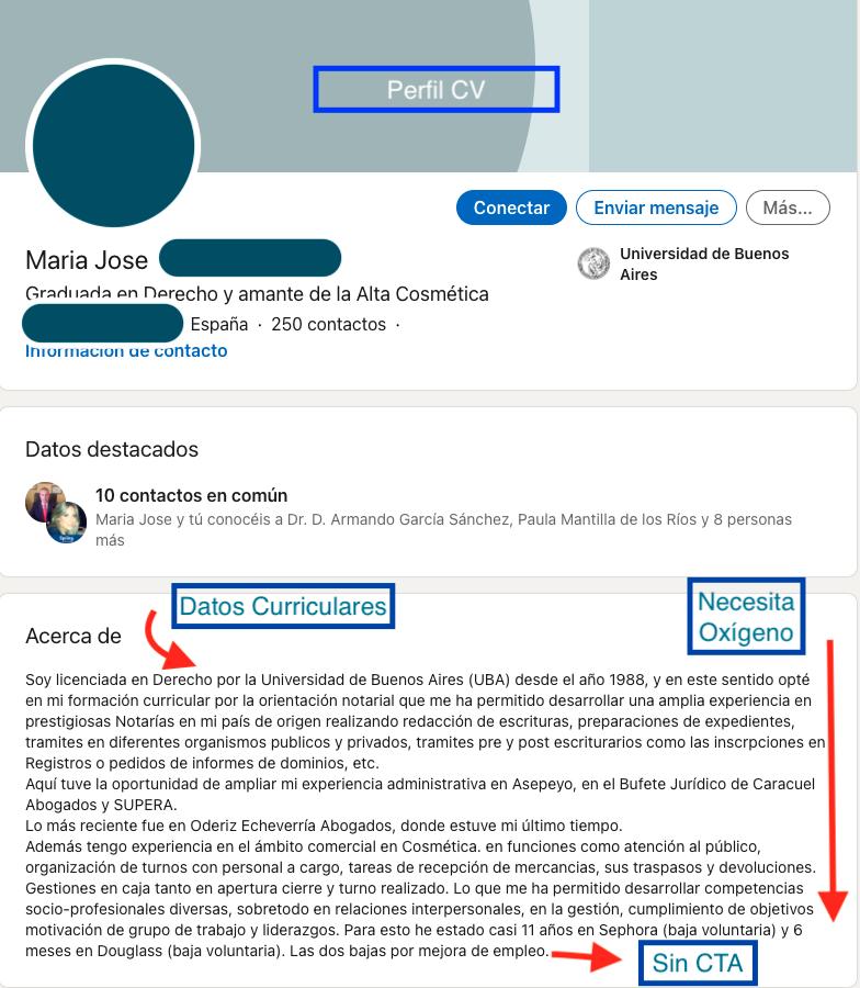 Linkedin Perfil Recurso